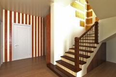 Боярка, холл, лестница на 2 этаж (12)