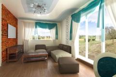 Боярка, гостиная в частном доме (2)