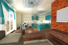 Боярка, гостиная в частном доме (4)
