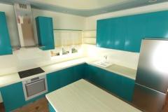 Боярка, кухня в частном доме (5)