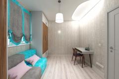 Боярка, кабинет в частном доме для женщины (8)