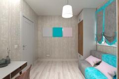 Боярка, кабинет в частном доме для женщины (9)