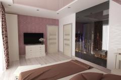 Дом Чабаны, спальня в частном доме (9)
