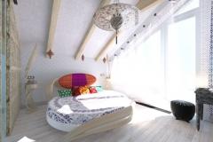 Спальня в частном доме (22)