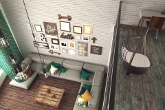 Ялта, гостиная в частном доме (6)