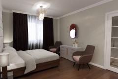 ЖК Министерский, спальня (2)